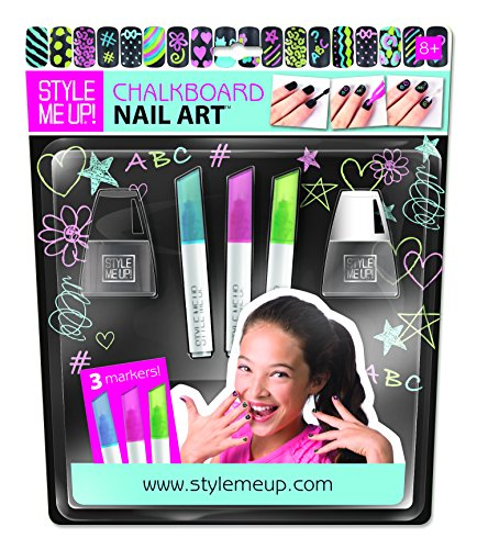 Style Me Up! Chalkboard Nail - Latest For Styles 2015