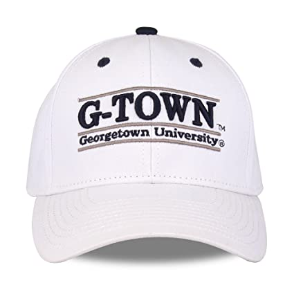 purchase cheap b89cb 9987a Image Unavailable. Image not available for. Color  NCAA Georgetown Hoyas  Unisex NCAA The Game bar Design Hat G-Town, White,