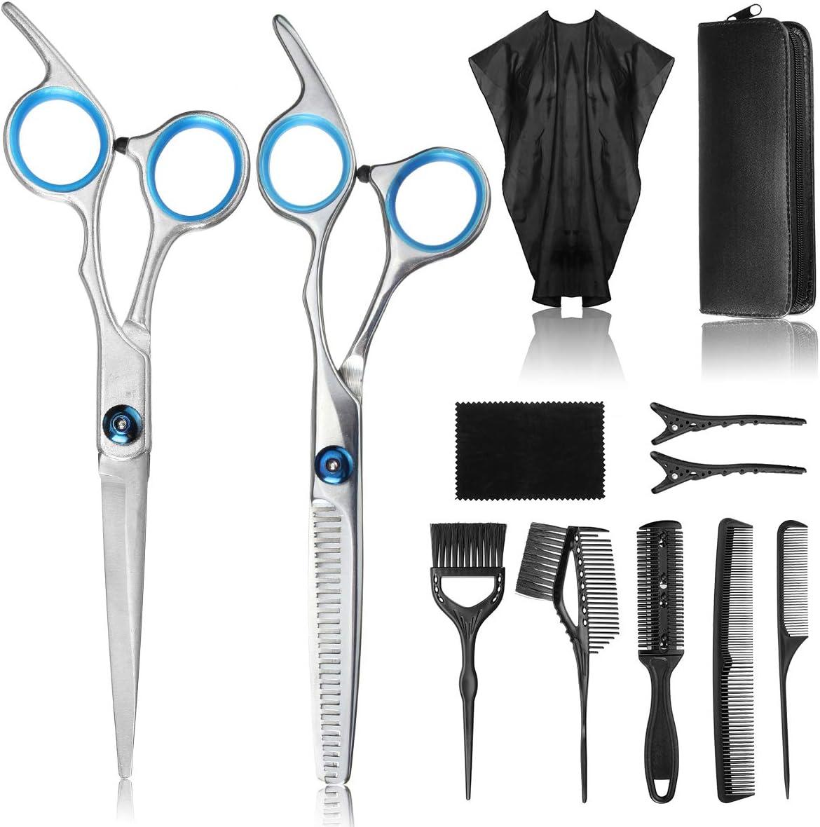 Juego de tijeras de peluquería Liaboe + accesorios por sólo 12,59€ con el #código: CWIJ5GKB