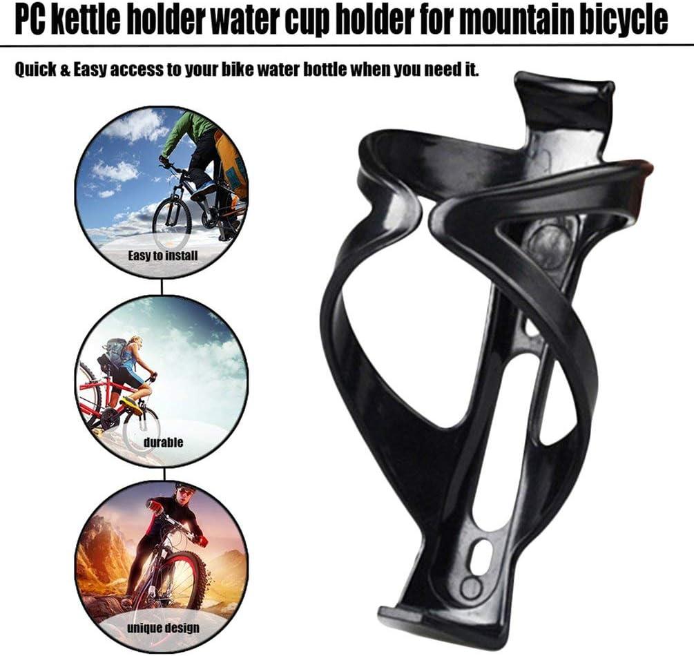 Deniseonuk Plastic Mountain Road Bike Water Bottle Holder Bicycle Bottle Rack Cycling Cup Bar Mounted Cup Bottles Holding Shelf