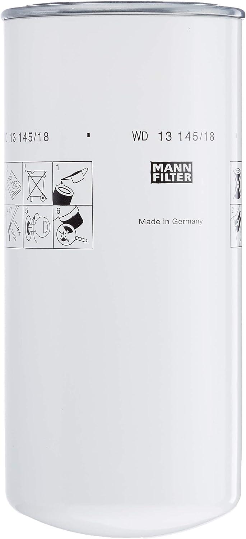 Original Mann Filter Hydraulikfilter Wd 13 145 18 Für Industrie Land Und Baumaschinen Auto