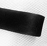 2''inch wide Stiff Polyester BLACK Horsehair Braid, selling per Roll 50Yards