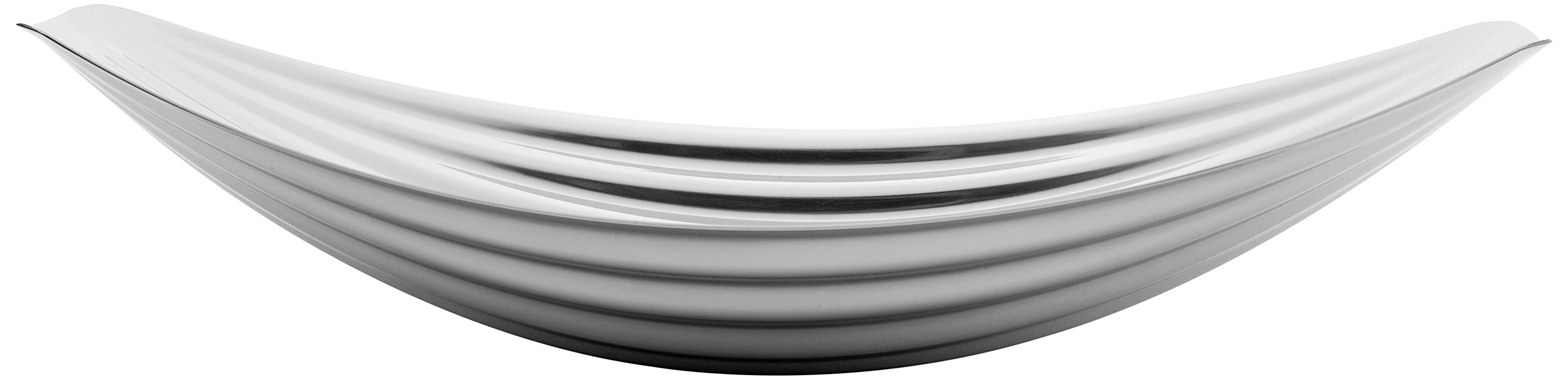 Toast Living USA Origami-Stainless Steel Plate, Silver