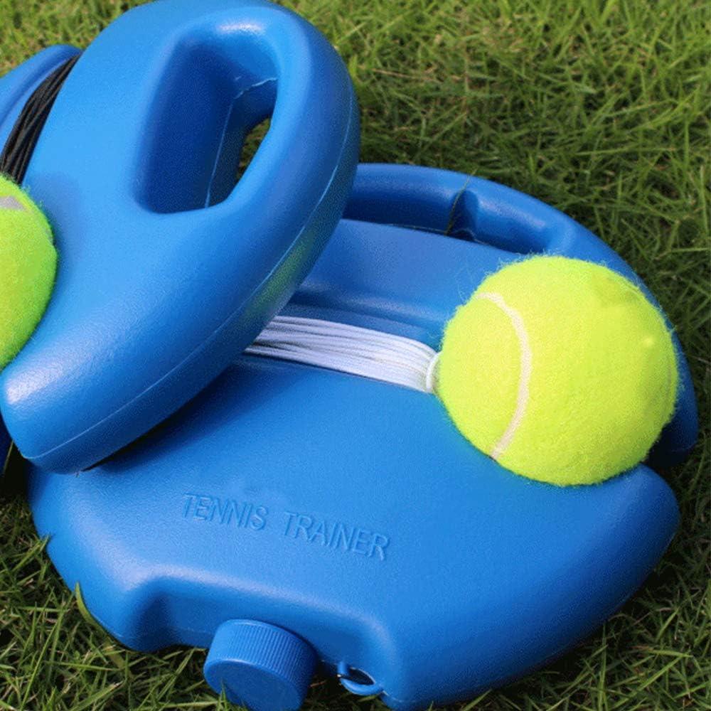 FANXQ Pista de Formación Práctica de Dispositivo, Dispositivo de Entrenamiento de Tenis con la Bola Dispositivo Individual Self-Deber de Tenis de Autoaprendizaje de Rebote Sparsring Dispositivo