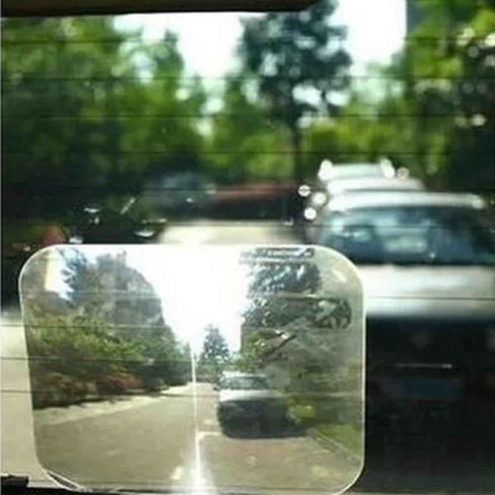 Behavetw Espejo retrovisor para Lente de Coche Fresnel, Gran á ngulo de visió n de Aparcamiento, para la Ventana Trasera de tu Coche, Reduce Puntos Ciegos, Mejora la Seguridad Gran ángulo de visión de Aparcamiento