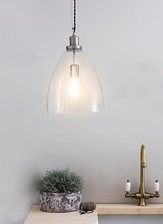 Garden Trading Hoxton - Lámpara de techo, diseño de bala ...