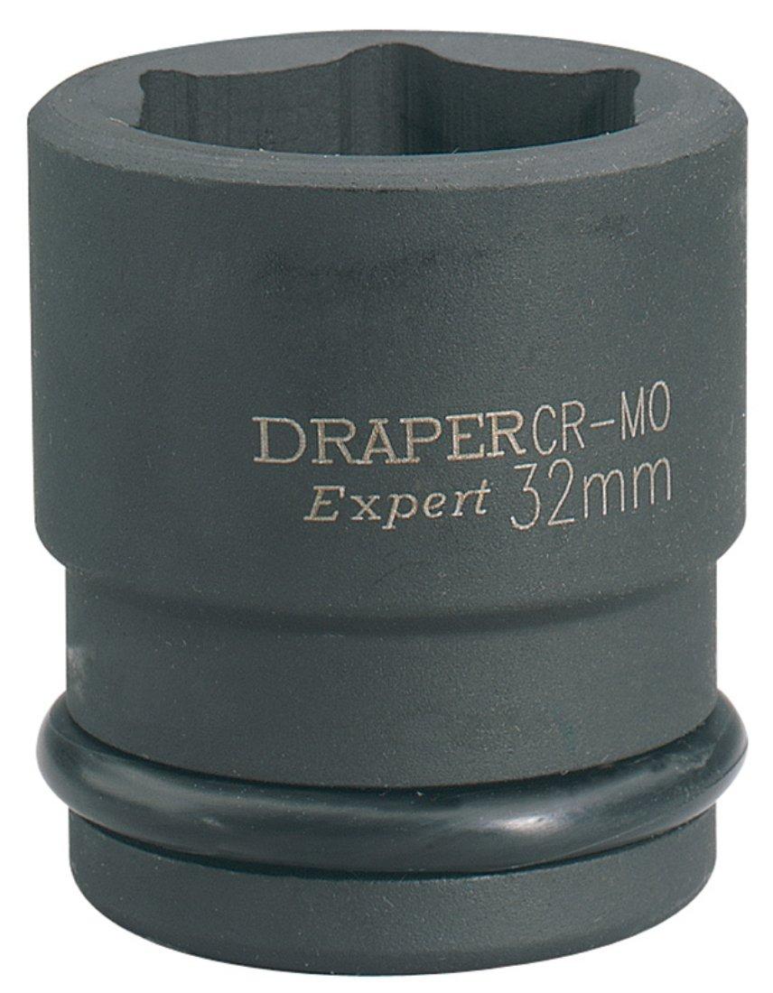 30 mm Size Draper 28735 3//4 Square Drive Expert Hi-Torq 6 Point Impact Socket