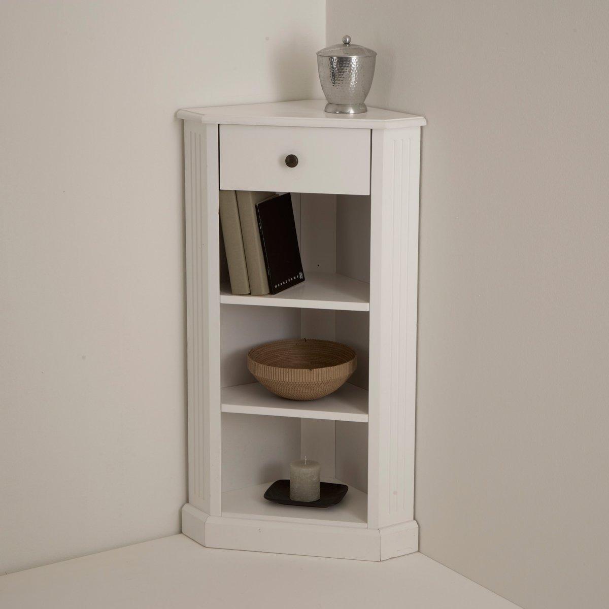 La Redoute Interieurs Armadio Angolare Laccato Bianco, Authentic Style Unica