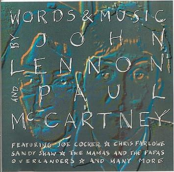 various artists words music beatles tri amazon com music