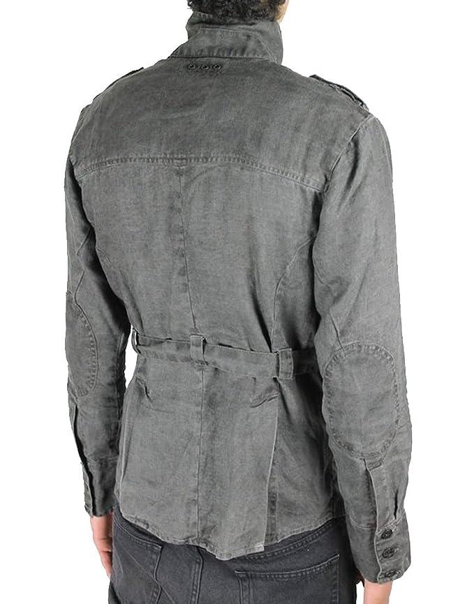 Pearly King Men/'s SHUTTER Jacket Grey PKJK001