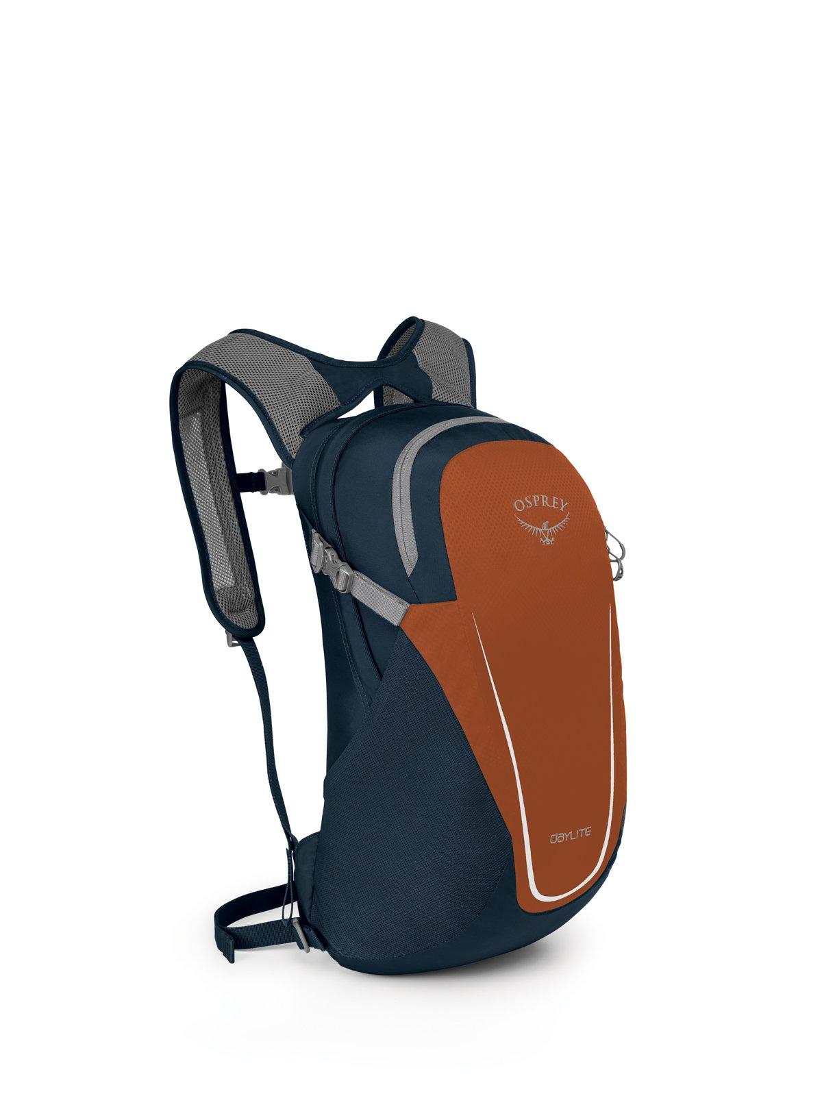 Osprey Packs Daylite Daypack - Dark Blue/Orange, Dark Blue Orange, One Size