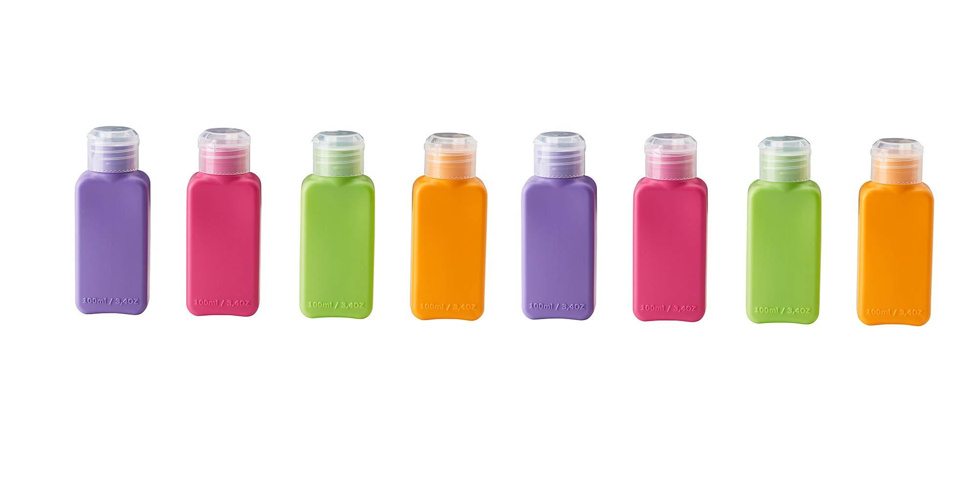 IKEA Upptacka Bottle, Assorted Colors - 4 Pack