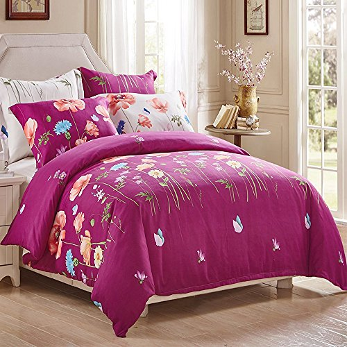 3 Piece Duvet Cover and Pillow Shams Bedding Sets, Comforter