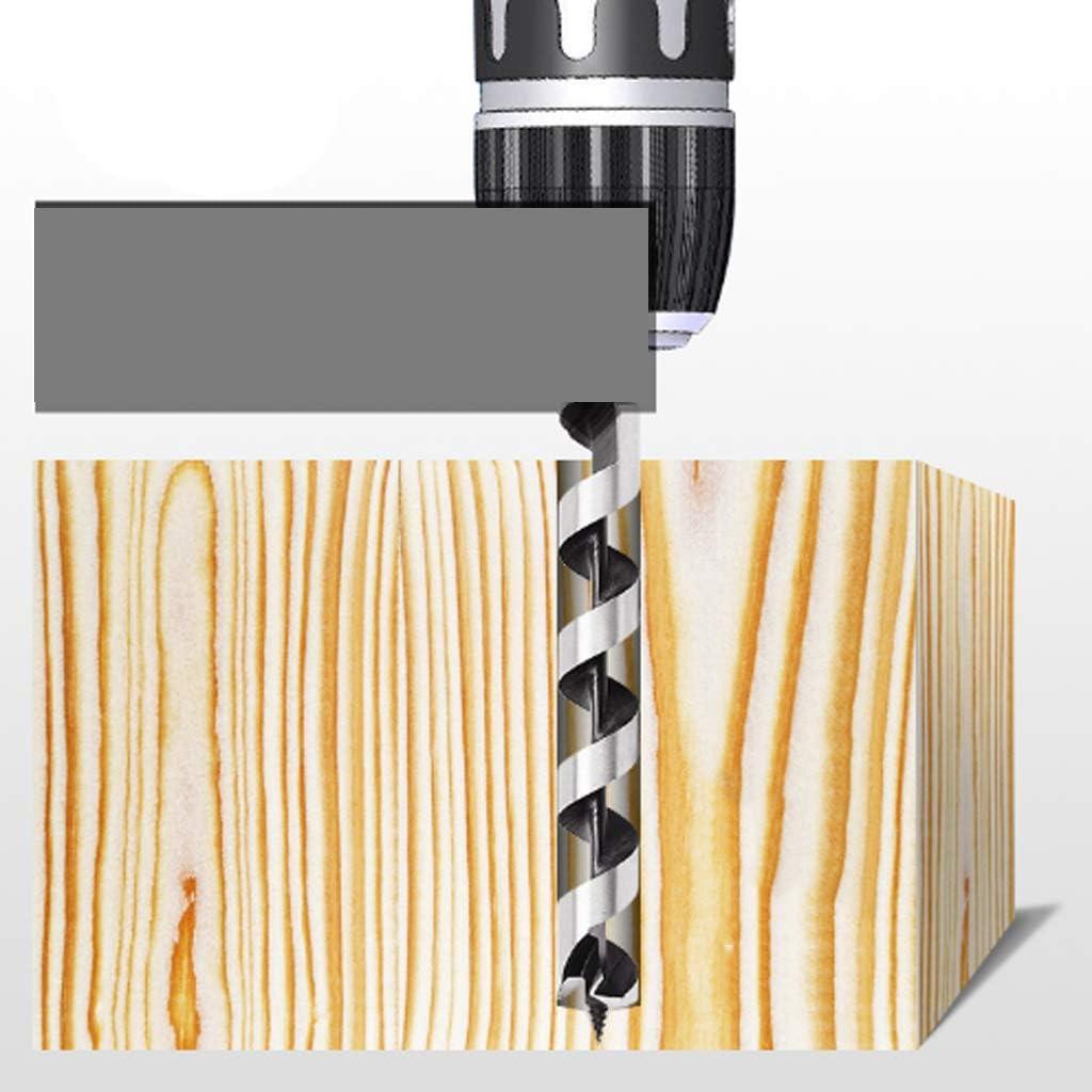 M19 Metal Wood Drill Bit for Woodworking//CNC Metalworking Gulakey 5pieces Twist Auger Drill Bit Set M8