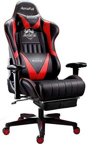 AutoFull Gaming Chair Racing Style Ergonomic High Back Computer Chair