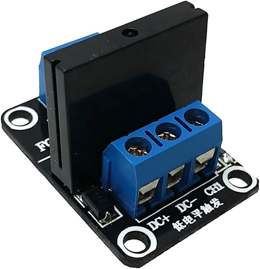 Solid State Relais-Modul Low Level Trigger AC 240V 2a SSR Modul Brett 1 Kanal 12V
