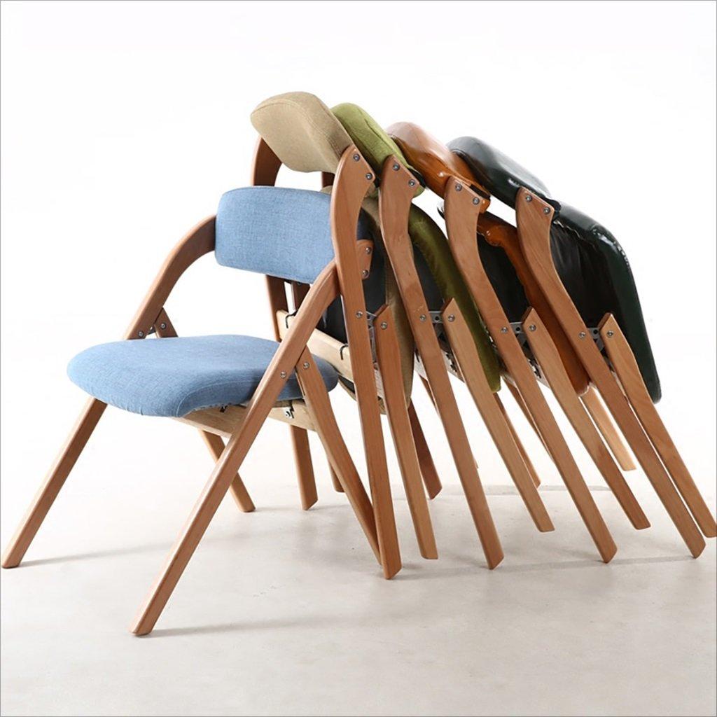 semplice pieghevole sedia computer posteriore soggiorno lounge chair Chair QL sedie/richiudibili Casa semplice portatile pieghevole in legno sedia da pranzo pieghevole Sedie pieghevoli dimensioni: 52 * 63 * 76 cm