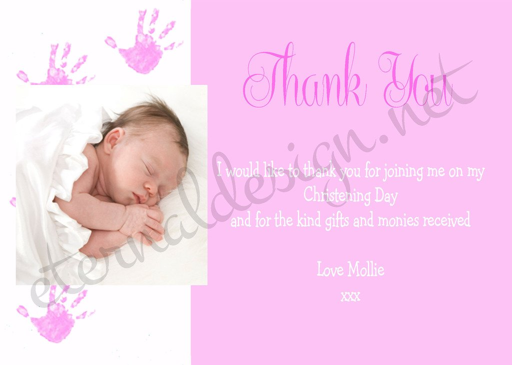 Eternal Design Personalised Thank You Cards Cdty 7
