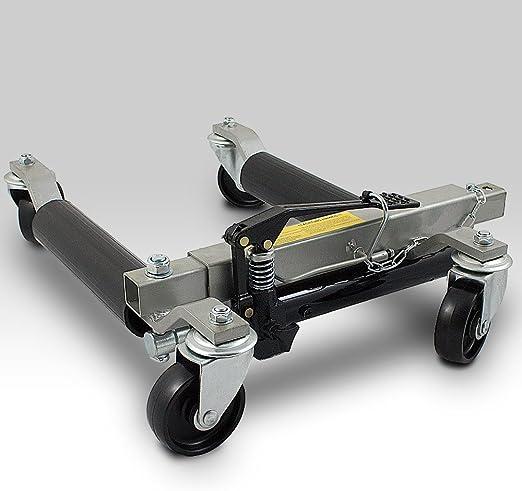 Bituxx Pkw Rangierhilfe Rangierheber Hydraulisch Wagenheber Auto Rangierroller Rangierheber Belastbar Bis 680 Kg Pro Rangierroller Auto