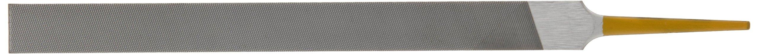 PFERD Machinist Hand File, Swiss Pattern, Double Cut, Rectangular, #00 Coarseness, 6'' Length, 1/2'' Width, 5/32'' Thickness