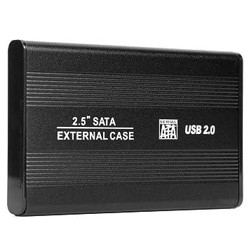 Domybest - Caja de Disco Duro Externo SSD (480 Mbps, 2,5
