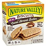 Kyпить Nature Valley Biscuits with Cocoa Almond Butter, 5 Count на Amazon.com