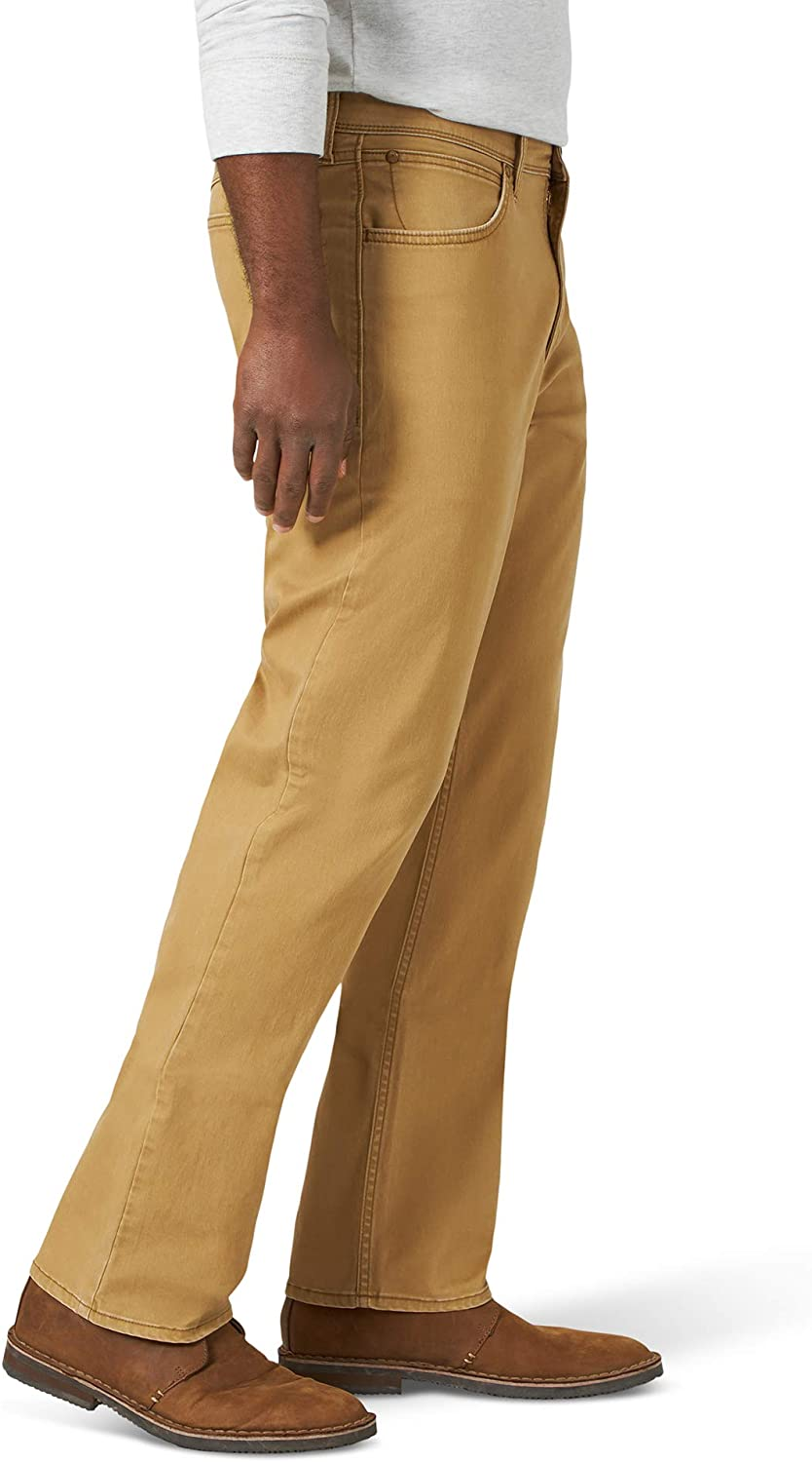 Wrangler Mens Straight Fit Twill Pant