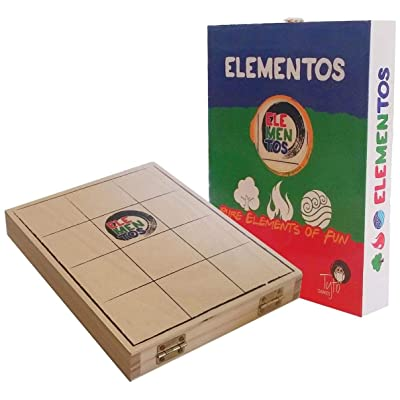 Tyto Games Elementos the Board Game: Toys & Games