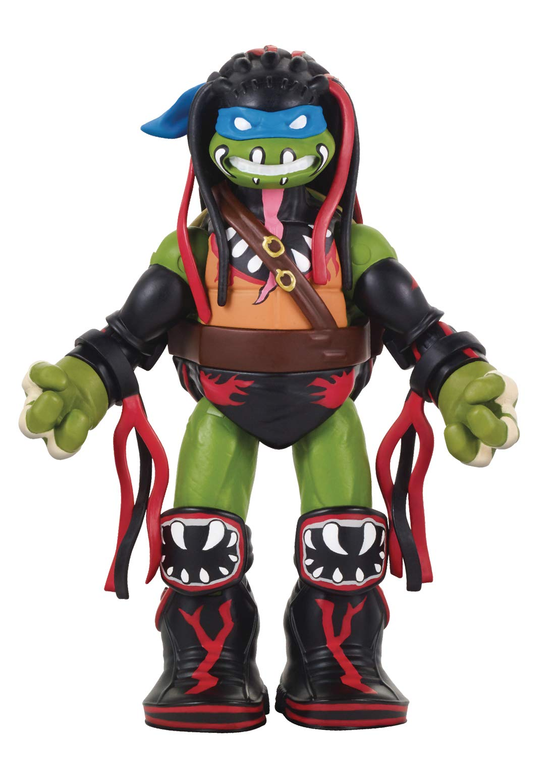 Teenage Mutant Ninja Turtles Ninja Super Stars: Leonardo as Finn Balor Figure