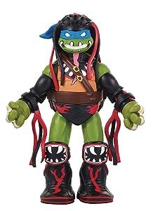 Teenage Mutant Ninja Turtles Ninja Super Stars: Leonardo as Finn Balor Figure
