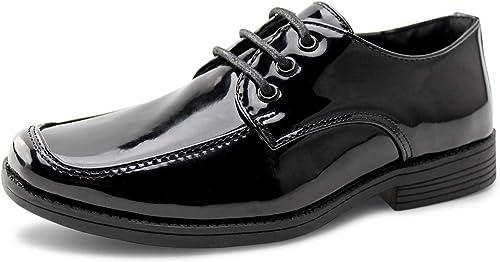 Amazon.com: Zapatos de uniforme escolar para niños con ...