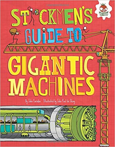 Book Stickmen's Guide to Gigantic Machines (Stickmen's Guides to How Everything Works)