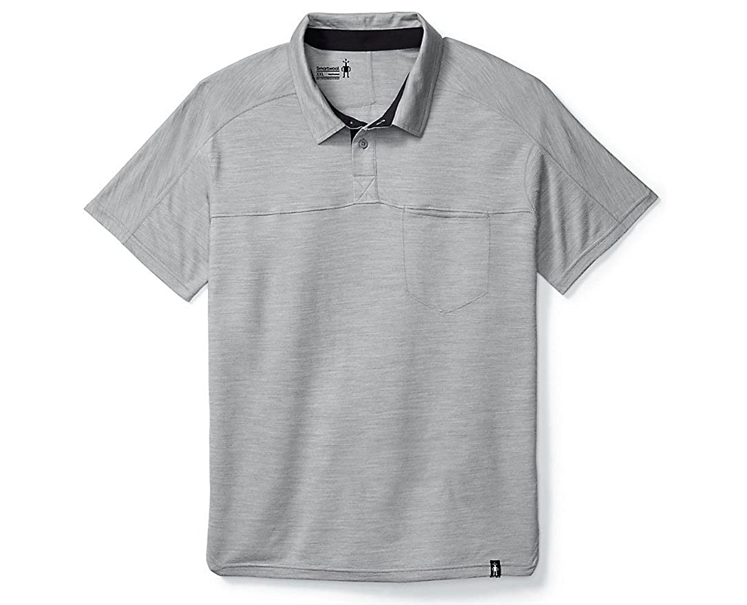 d79aed6c SmartWool Men's Everyday Exploration Polo Shirt - Past Season at Amazon  Men's Clothing store: