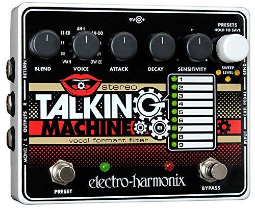 Electro-Harmonix Stereo Talking Machine New Sensor