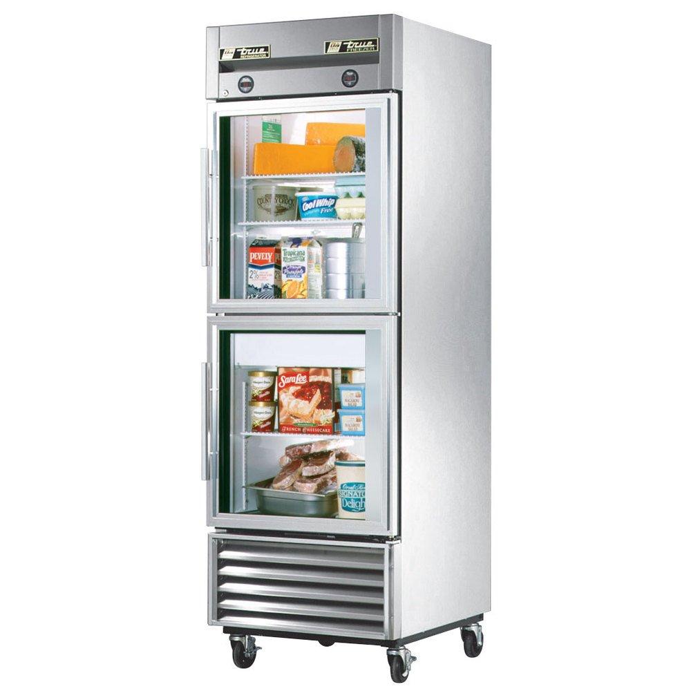 Glass Refrigerator Amazoncom True Mfg T 23dt G Glass Door Dual Temperature Reach