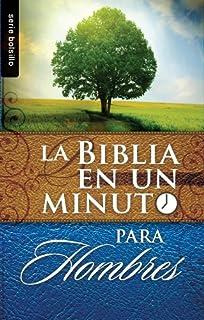 Biblia en un Minuto: Para Hombres (Serie Bolsillo) (Spanish Edition)
