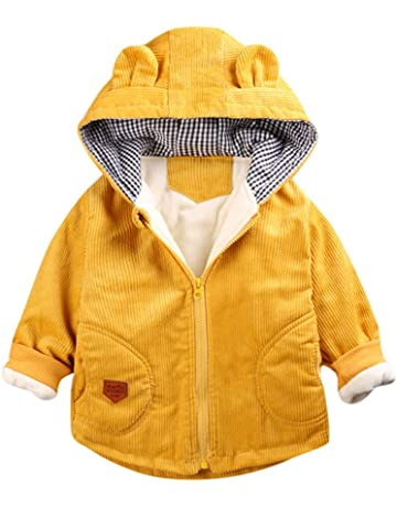 Aivtalk Baby Kapuze Strampler 3-teiliger Winter warme Outwear Winddicht Mantel f/ür 0-24 Monate