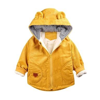 Abrigos Bebé Ropa Bebé, Niña Invierno Encapuchados Abrigo A