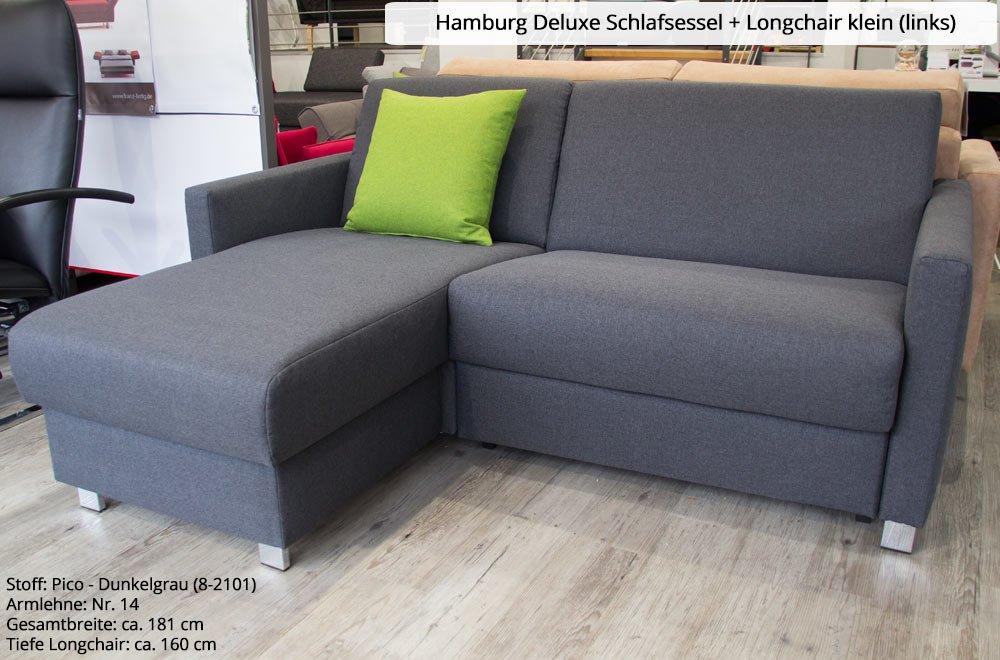 Schlafsessel mit lattenrost  Hamburg Deluxe Schlafsessel mit Lattenrost und Matratze: Amazon.de ...