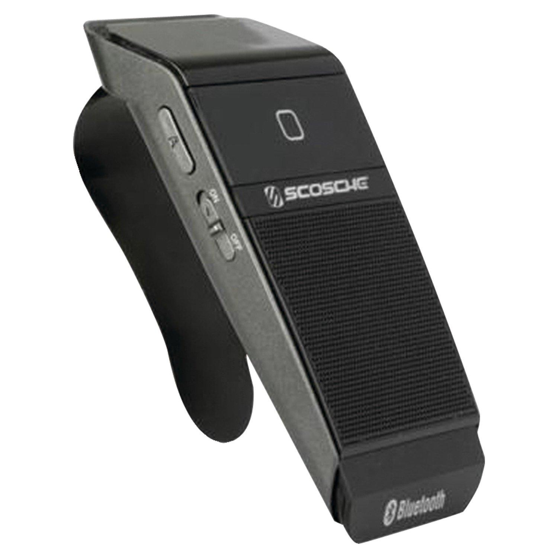 Scosche cbhv7 talkBACK - Bluetooth Handsfree Speakerphone - Bluetooth Car Kit - Retail Packaging - Black by Scosche