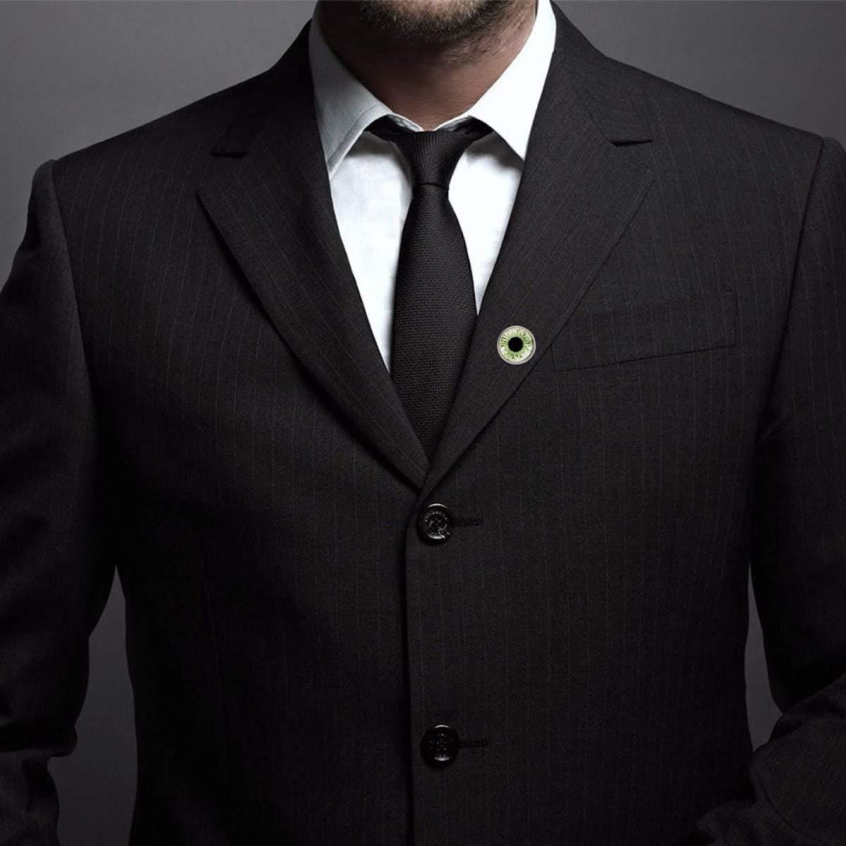 Custom Lapel Pin Brooches Tender Green Eyeball Banquet Badge Pins Trendy Accessory Jacket T-Shirt Bag Hat Shoe