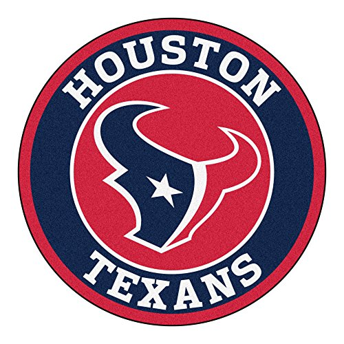 - FANMATS 17960 NFL Houston Texans Roundel Mat