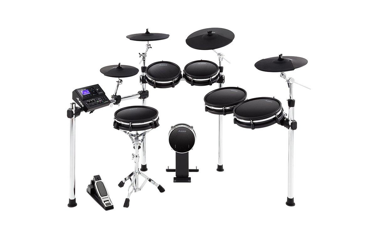 Alesis DM10 MKII Pro Kit | Ten-Piece Electronic Drum Kit with Mesh Heads