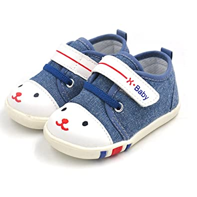534adfc743ff4 HLMBB Baby Shoes Sneakers for Infant Toddler Girls Boys Kids Babies 6 9 12  18 Months Pre Walker Black
