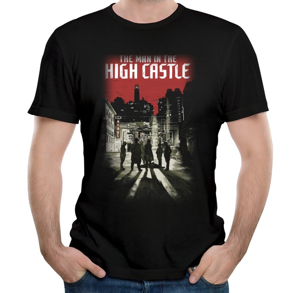 Amazon Com Men S The Man In The High Castle Wallpaper T Shirts
