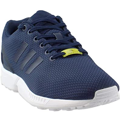 sale retailer 31279 d6544 adidas Mens ZX Flux Athletic & Sneakers Navy
