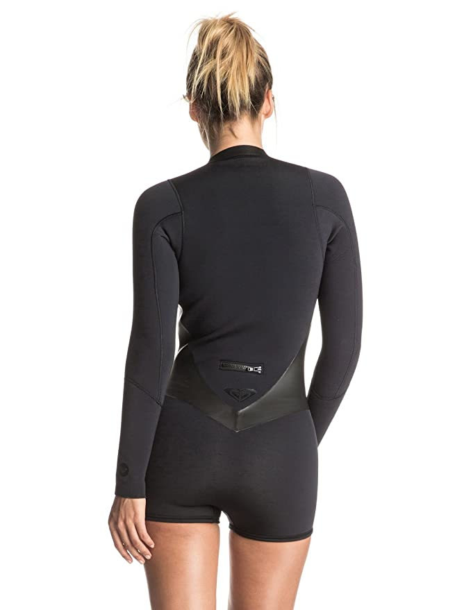 Roxy - Womens 2M Pop Lssp Sat Wetsuit, 14, True Black: Amazon.co.uk: Sports & Outdoors