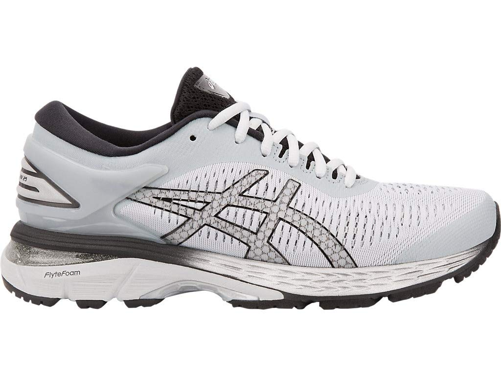 ASICS Women's Gel-Kayano 25 Running Shoes, 9M, MID Grey/Silver by ASICS