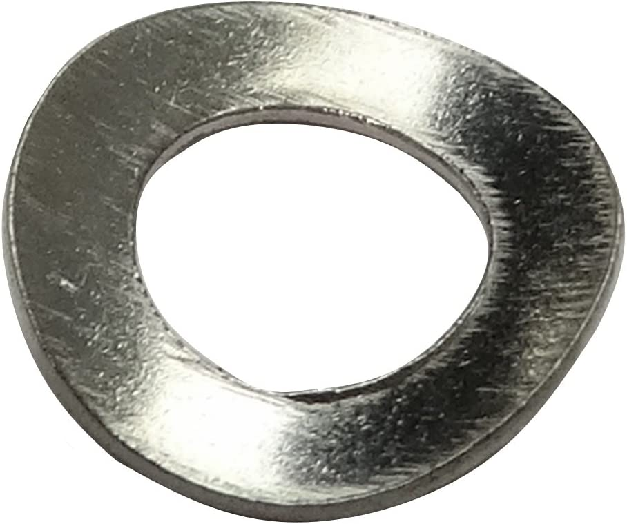 Aerzetix 100x rondelle ondul/ée M5 Ф10mm H0.9mm DIN137A Acier INOX A2 C17677