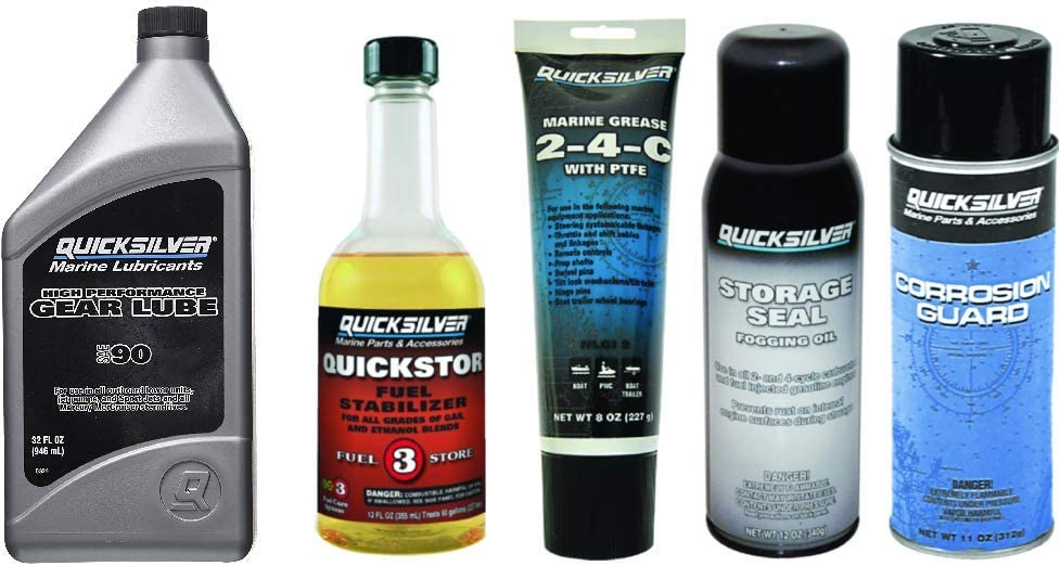 MERCURY QUICKSILVER OEM Outboard Winterization & Storage Essentials Kit #1